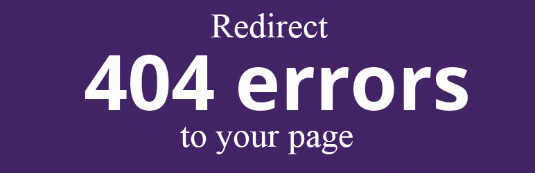 All 404 Pages Redirect To Homepage