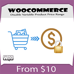 Disable Variable Product Price Range Woocommerce