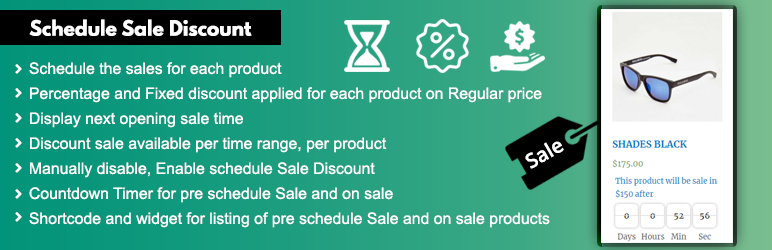 Woocommerce Sale Discount Scheduler