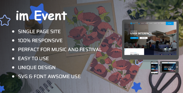 Event & Conference – Responsive HTML5 Template