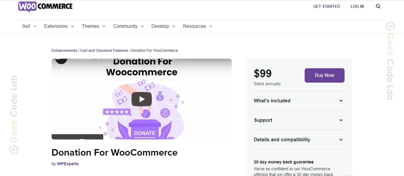 WooCommerce Donation