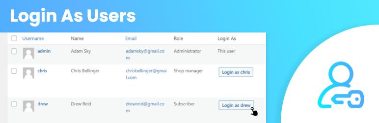 Login As Users