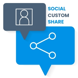 Social Custom Share