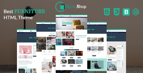 Nero Shop – eCommerce HTML5 Template