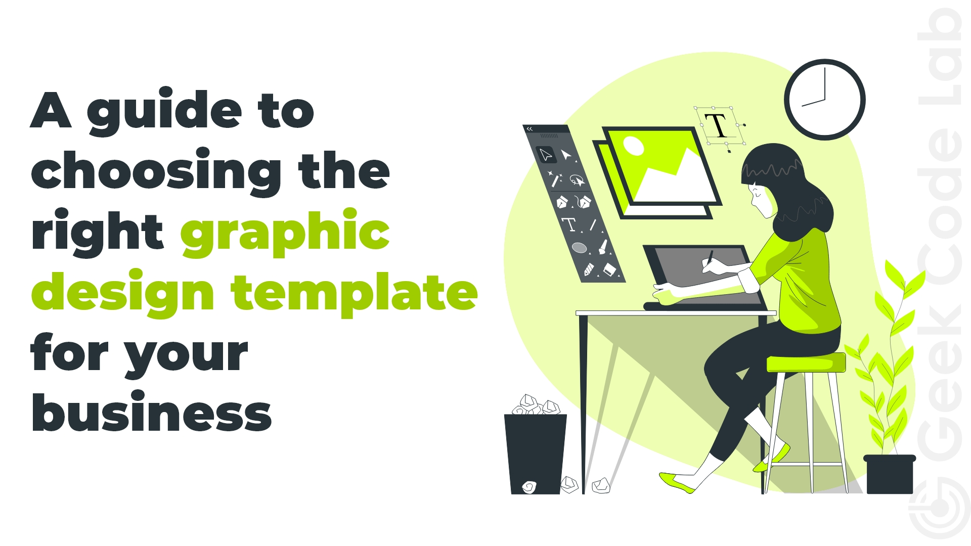 A guide to choosing the right graphic design template for your business